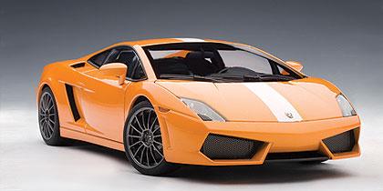 AUTOart: 2009 Lamborghini Gallardo LP550 2 Balboni   Arancio Borealis  (74633) In