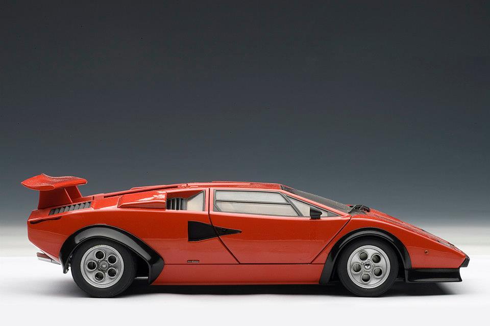 AUTOart Lamborghini Countach LP500S Walter Wolf Edition