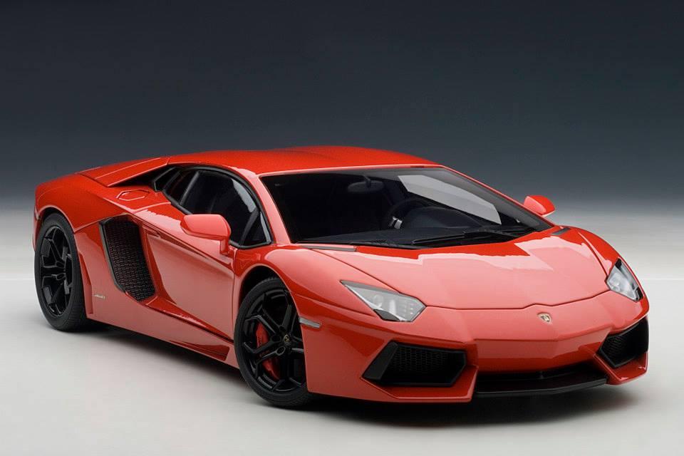 Autoart Lamborghini Aventador Lp700 4 Rosso Andromeda Red 74669 In 1 18 Scale Mdiecast