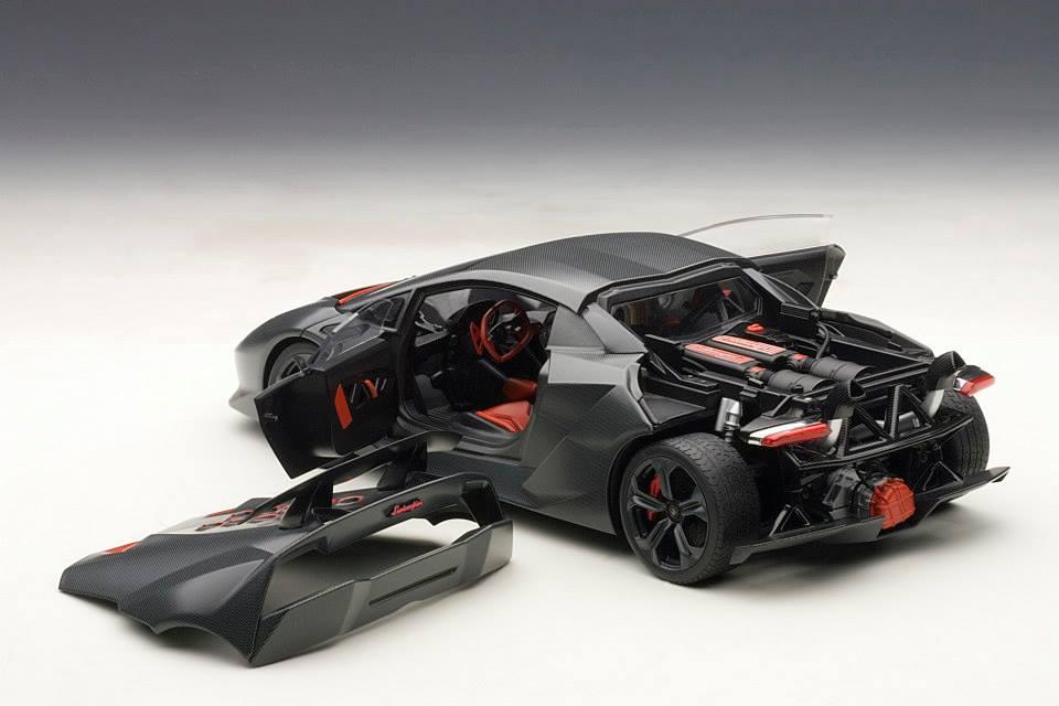 AUTOart: Lamborghini Sesto Elemento - Carbon Grey (74671 ...