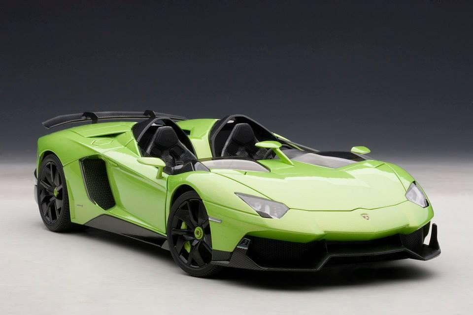 AUTOart Lamborghini Aventador J Green 74677 In 118