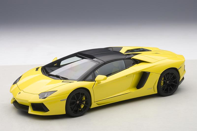 AUTOart: Lamborghini Aventador LP700-4 Roadster - Giallo ...
