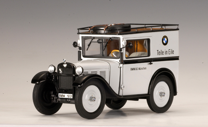 Auto Owners Login >> AUTOart: BMW 3/15 PS 'Teile in Eile' (75011) in 1:18 scale - mDiecast