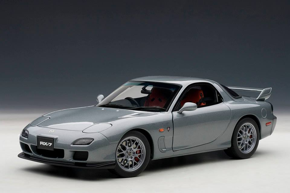 Autoart Mazda Rx 7 Fd Spirit R Type A Titanium Grey Metallic 75987 In 1 18 Scale Mdiecast