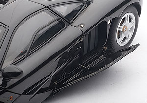 AUTOart: 1994 McLaren F1 Short Tail Road Car - Jet Black Metallic (76002) in 1:18 scale