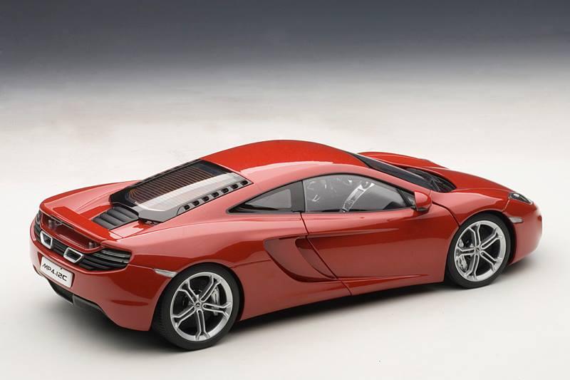 Mclaren Price 2017 >> AUTOart: McLaren MP4-12C - Red (76008) in 1:18 scale ...