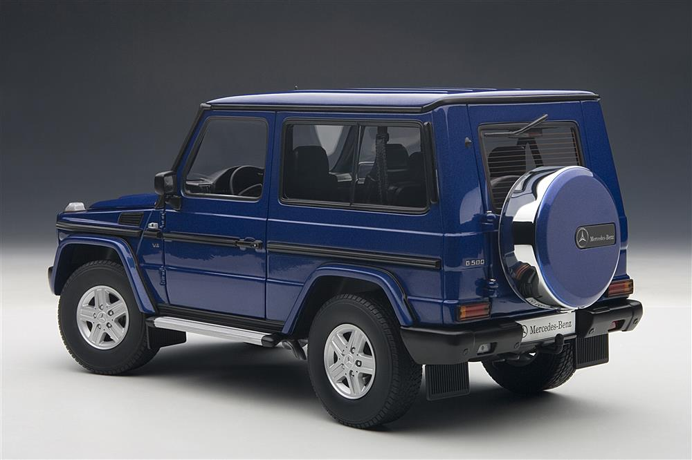 2019 G Wagon >> AUTOart: Mercedes-Benz G Model SWB - Blue (76114) in 1:18