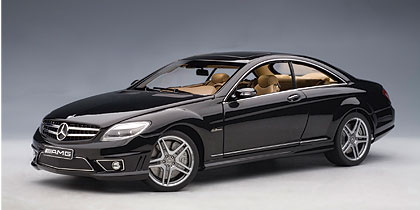 List Of Cars >> AUTOart: Mercedes-Benz CL63 AMG - Black (76169) in 1:18 ...