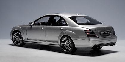AUTOart: Mercedes-Benz S63 AMG - Iridium Silver (76241) in ...