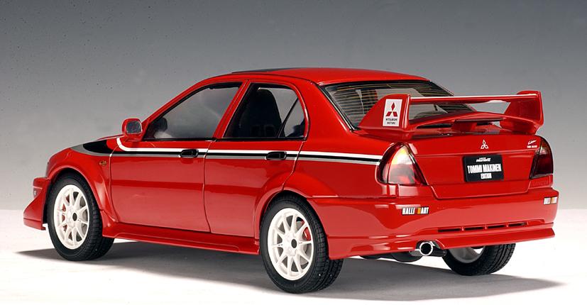 AUTOart: Mitsubishi Lancer Evo VI Tommi Makinen Edition ...