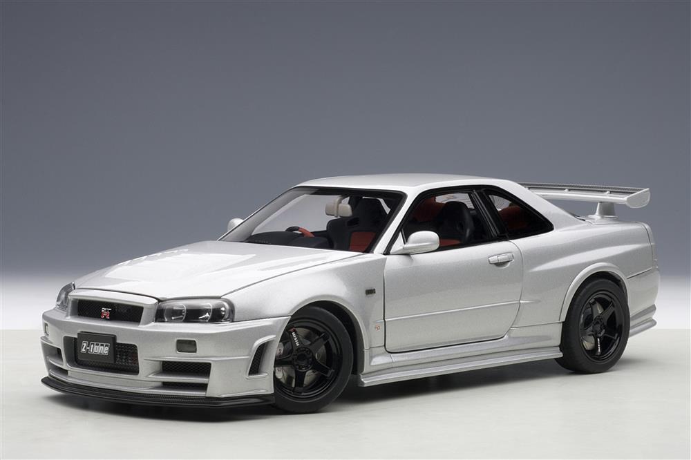 AUTOart: 2005 Nissan Skyline GT-R (R34) Nismo Z-Tune ...