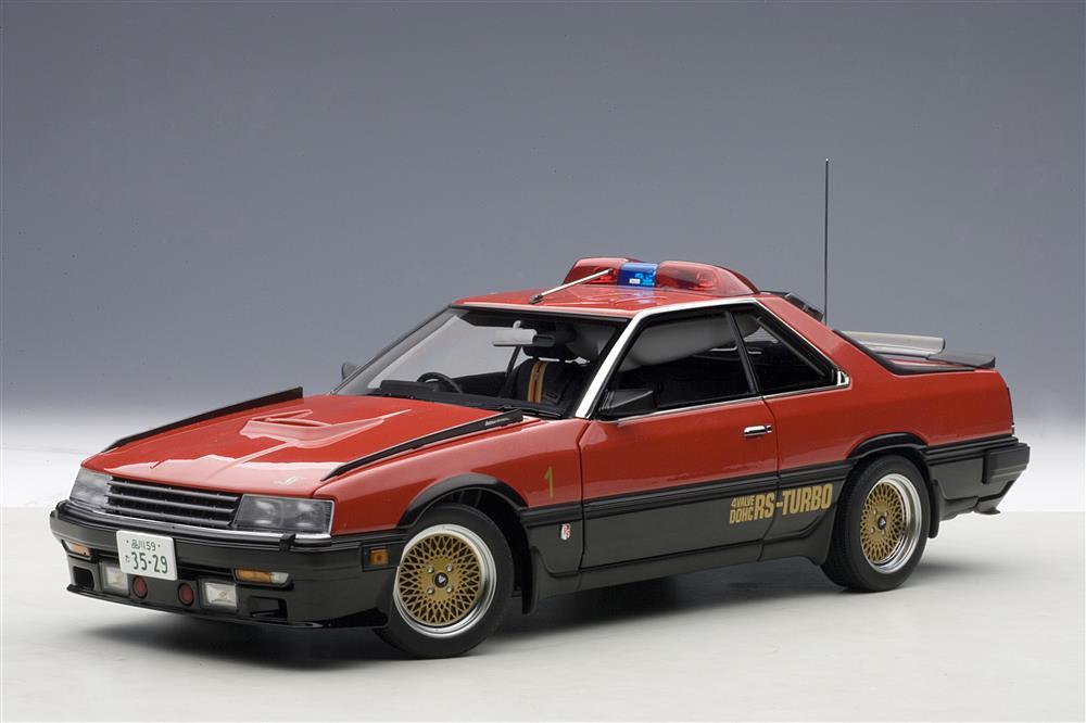 Nissan Skyline >> AUTOart: Nissan Skyline RS 'Seibu-Keisatsu RS-1' (77424 ...