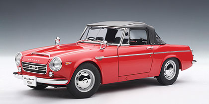 AUTOart: Datsun Fairlady 2000 (SR311) - Red (77431) in 1:18 scale