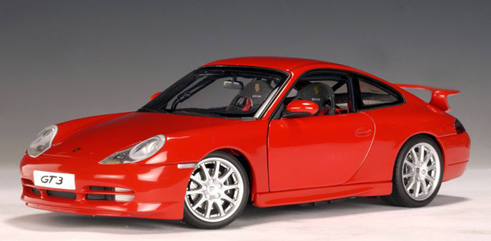 Brands Of Cars >> AUTOart: Porsche 911 GT3 (996) - Red (77811) in 1:18 scale - mDiecast
