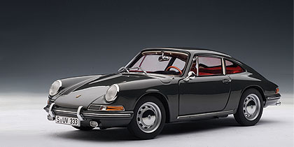 Autoart 1964 Porsche 911 Slate Grey 77914 In 1 18
