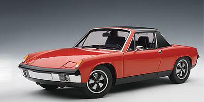Autoart 1970 Porsche 914 6 Blut Orange 77932 In 1 18