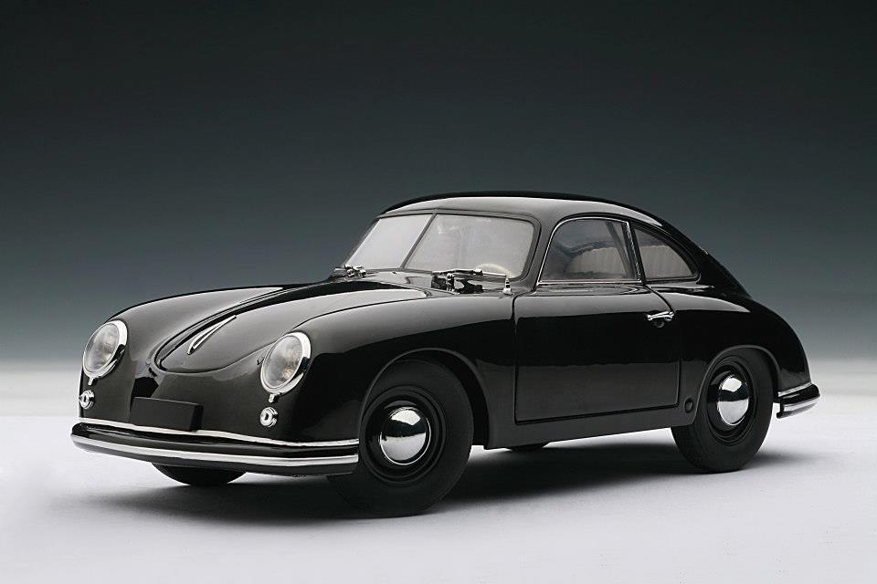 Autoart 1950 Porsche 356 Coupe Ferdinand Black 77946