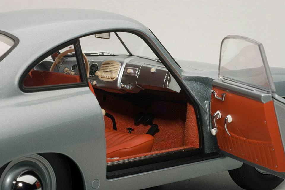 AUTOart: 1950 Porsche 356 Coupe 'Ferdinand' - Fish Silver ...