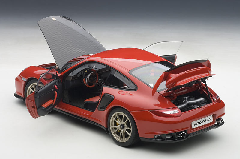 autoart porsche 911 997 gt2 rs red 77964 in 1 18. Black Bedroom Furniture Sets. Home Design Ideas