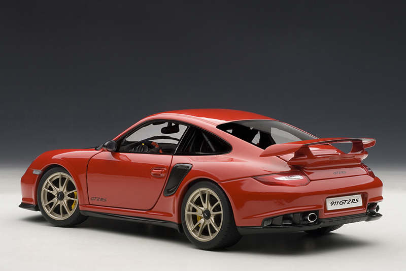 autoart porsche 911 997 gt2 rs red 77964 in 1 18 scale mdiecast. Black Bedroom Furniture Sets. Home Design Ideas