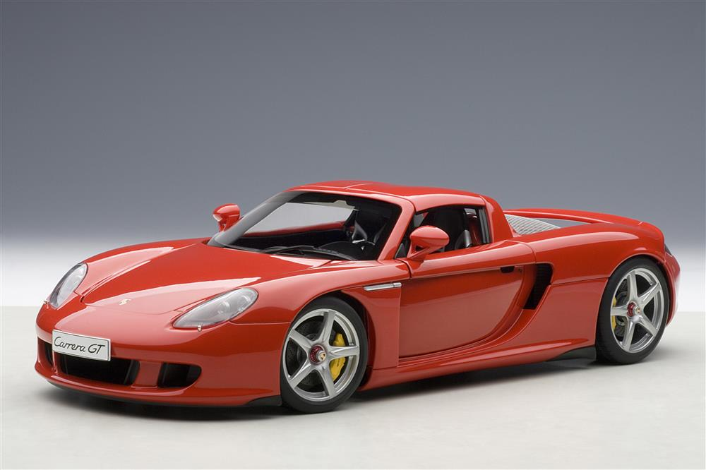 Autoart Porsche Carrera Gt Red 78044 In 1 18 Scale