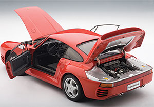 AUTOart: 1986 Porsche 959 - Red (78082) in 1:18 scale ...