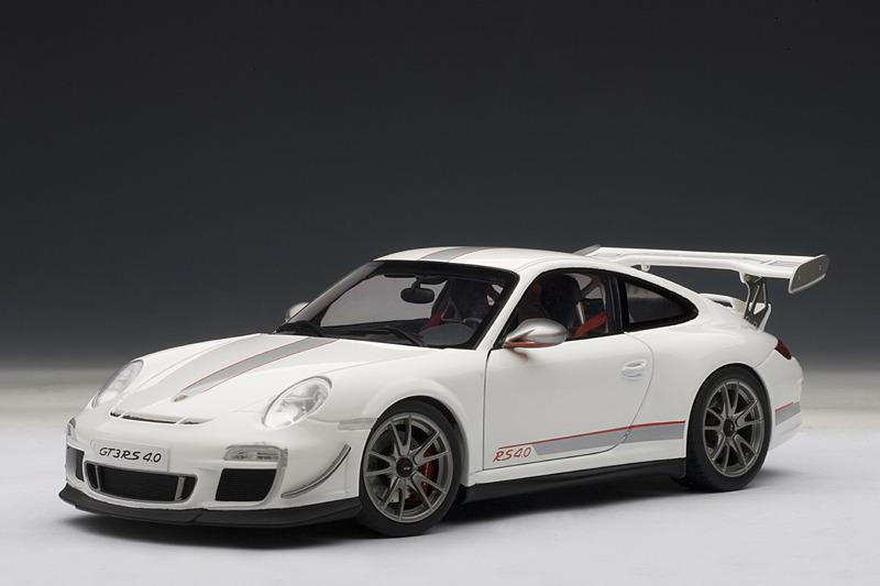 Autoart Porsche 911 997 Gt3 Rs 4 0 White 78147 In 1 18 Scale Mdiecast