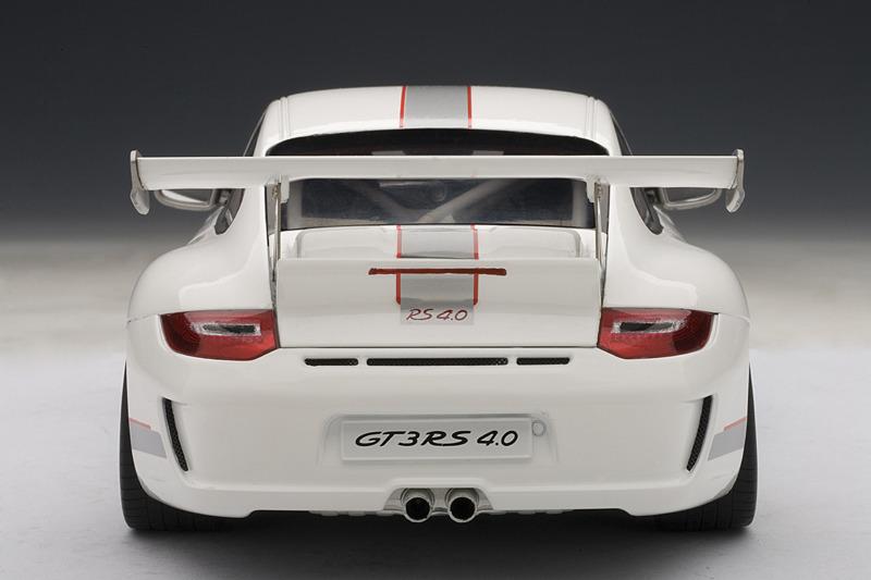 Gt3 Rs 3 8 White With Red Stripes 1 18 Autoart 78143 Porsche 911 997 Contemporary Manufacture Toys Hobbies Japengenharia Com Br