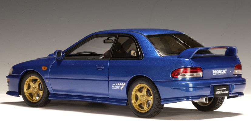 AUTOart: Subaru Impreza WRX Type R - Blue (78612) in 1:18 scale ...