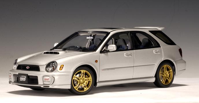 AUTOart: 2001 Subaru New Age Impreza WRX Wagon Sti ...