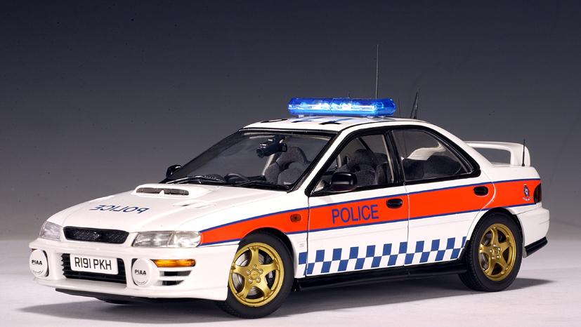 AUTOart: Subaru Impreza Police Car - Great Britain (78651 ...