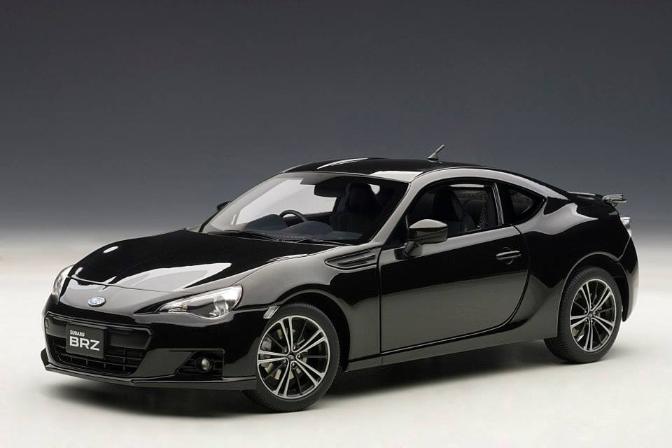 List Of Cars >> AUTOart: Subaru BRZ - Black (78692) in 1:18 scale - mDiecast