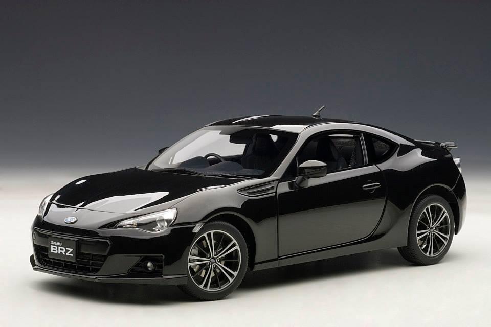 AUTOart: Subaru BRZ - Black (78692) in 1:18 scale - mDiecast