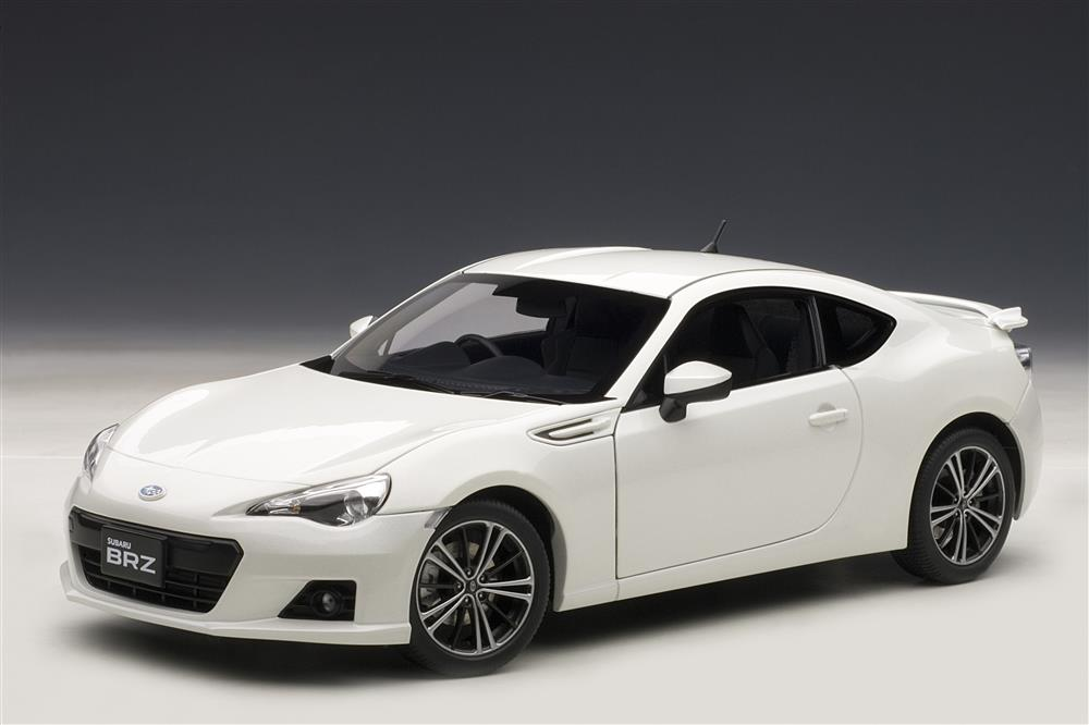 All Brands Of Cars >> AUTOart: Subaru BRZ - White (78693) in 1:18 scale - mDiecast