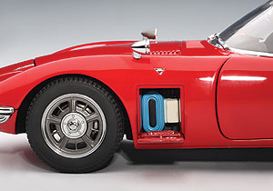 AUTOart: Toyota 2000 GT Coupe (Upgraded Version) - Red (78746) in 1:18 scale