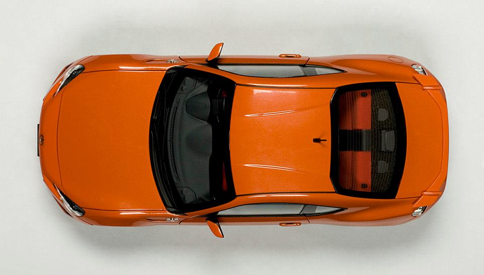 Toyota Supra Top View >> AUTOart: Toyota GT86 Asian Version (RHD) - Orange Metallic ...