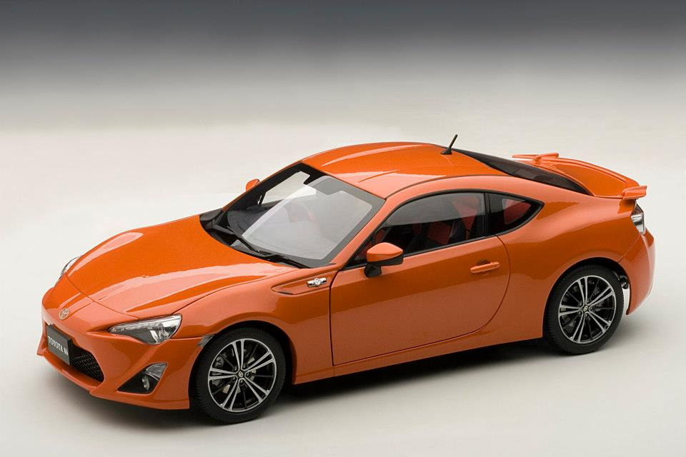 AUTOart: Toyota GT86 Asian Version (RHD) - Orange Metallic (78771) in ...