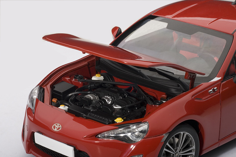 AUTOart: Toyota GT86 European Version (LHD) - Red (78774) in 1:18 scale