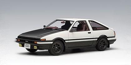 AUTOart: Toyota Sprinter Trueno (AE86) Special Tuned Version   White (78793)
