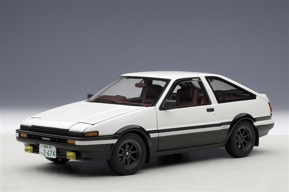 autoart toyota sprinter trueno ae86 initial d legend 1. Black Bedroom Furniture Sets. Home Design Ideas