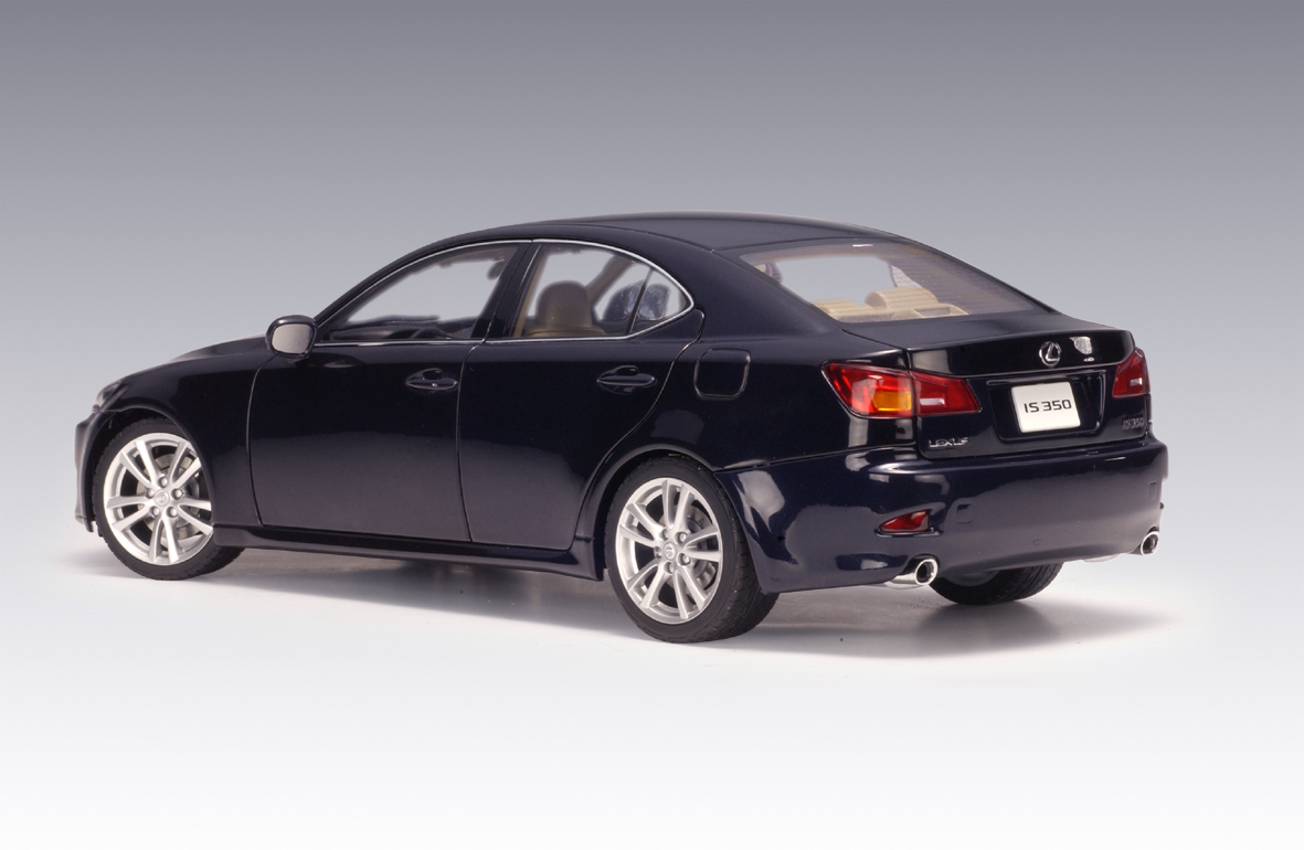 autoart 2006 lexus is350 lhd blue 78811 in 1 18 scale. Black Bedroom Furniture Sets. Home Design Ideas