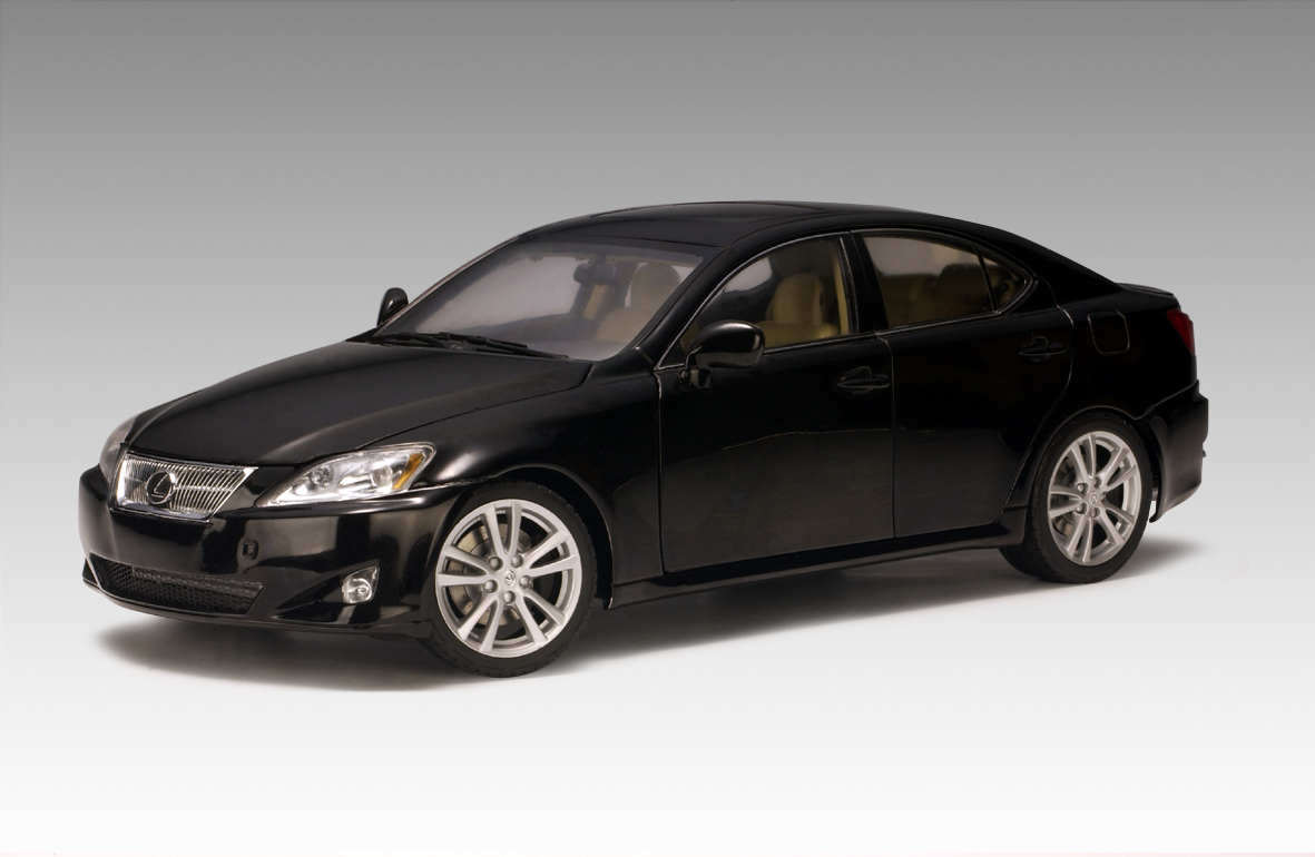 autoart 2006 lexus is350 lhd black 78812 in 1 18. Black Bedroom Furniture Sets. Home Design Ideas