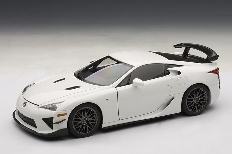 AUTOart: 2011 Lexus LFA Nurburgring Edition - Pearl White ...