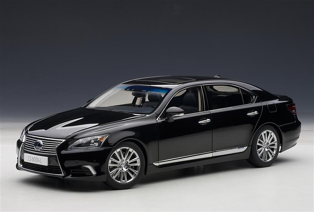 All Brands Of Cars >> AUTOart: Lexus LS600hL - Black (78842) in 1:18 scale - mDiecast