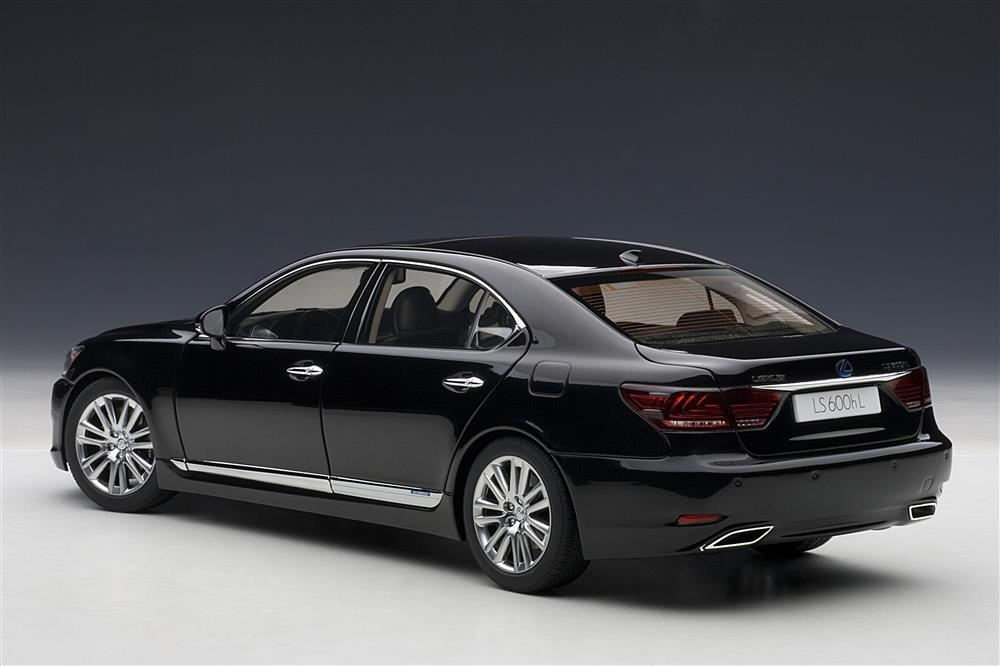 Autoart Lexus Ls600hl Black 78842 In 1 18 Scale
