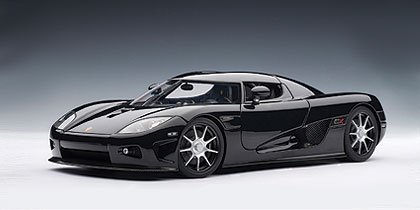 AUTOart: Koenigsegg CCX - Black (79002) in 1:18 scale