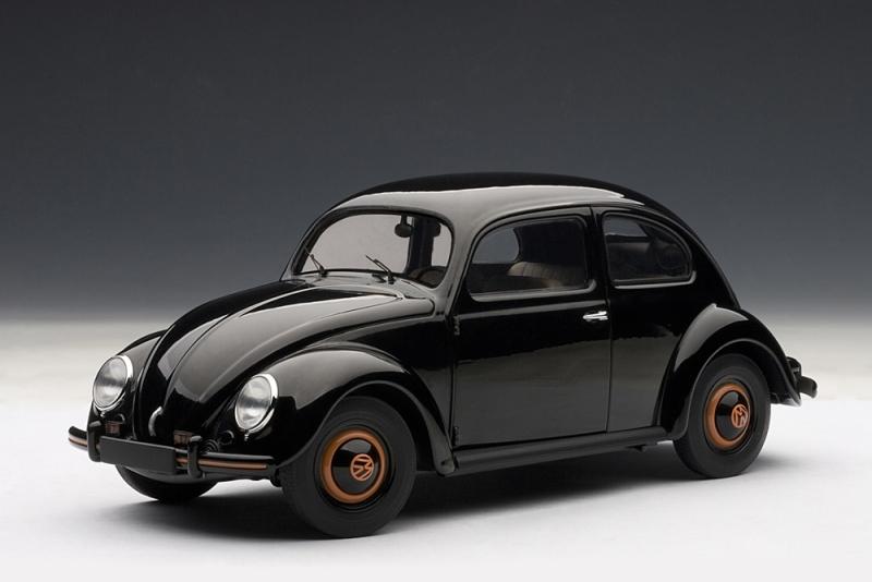 autoart 1948 volkswagen beetle kafer limousine black