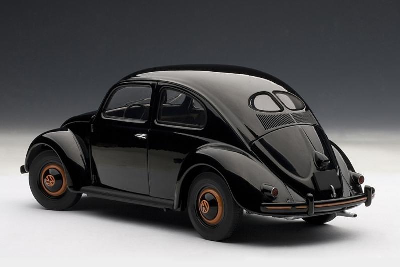AUTOart: 1948 Volkswagen Beetle Kafer Limousine - Black (79771) in 1 ...