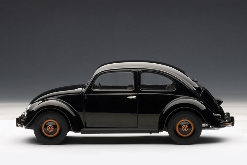 All About Cars >> AUTOart: 1948 Volkswagen Beetle Kafer Limousine - Black ...