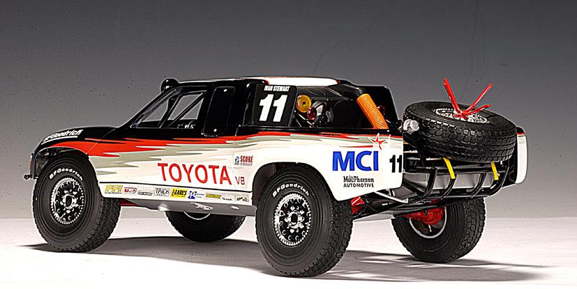 Autoart 1998 Toyota Racing Truck Ivan Stewart 11